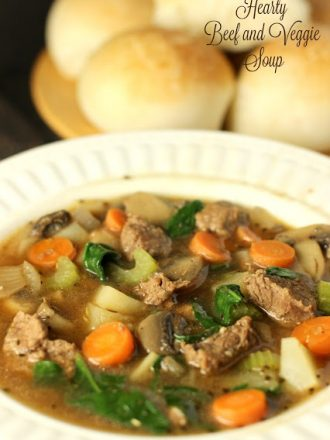 Hearty Beef and Veggie Soup