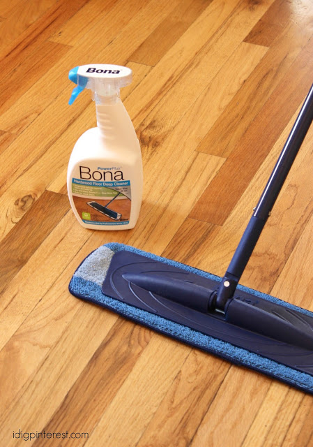 "How to Keep Hardwood Floors Looking ""Fab"", Plus a 30 Day ..."
