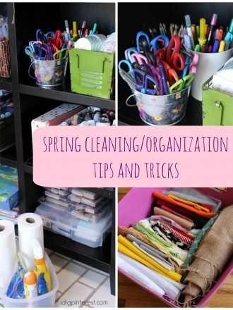Spring Cleaning/Organization Tips