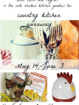 Country Kitchen $100 Cash Giveaway