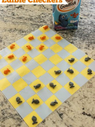 Edible Checkers Game