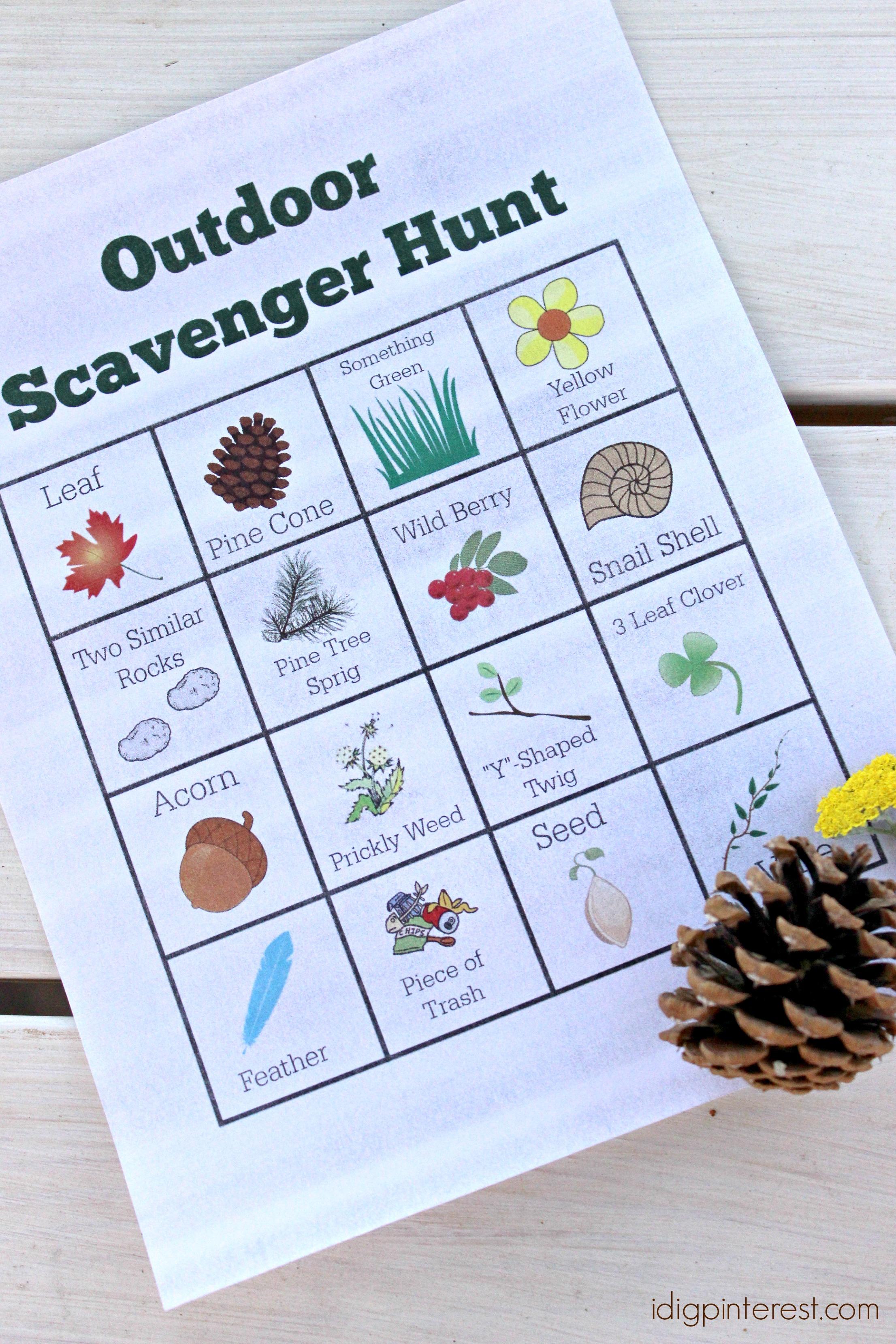 outdoor scavenger hunt1