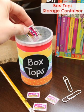 DIY Box Tops Storage Container