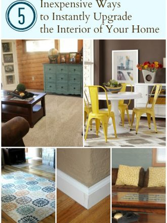 Five Inexpensive Ways to Instantly Upgrade the Interior of Your Home