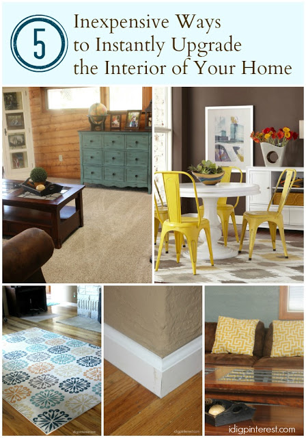 Five Inexpensive Ways To Instantly Upgrade The Interior Of