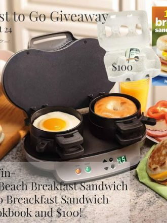Breakfast to Go (plus $100) Giveaway