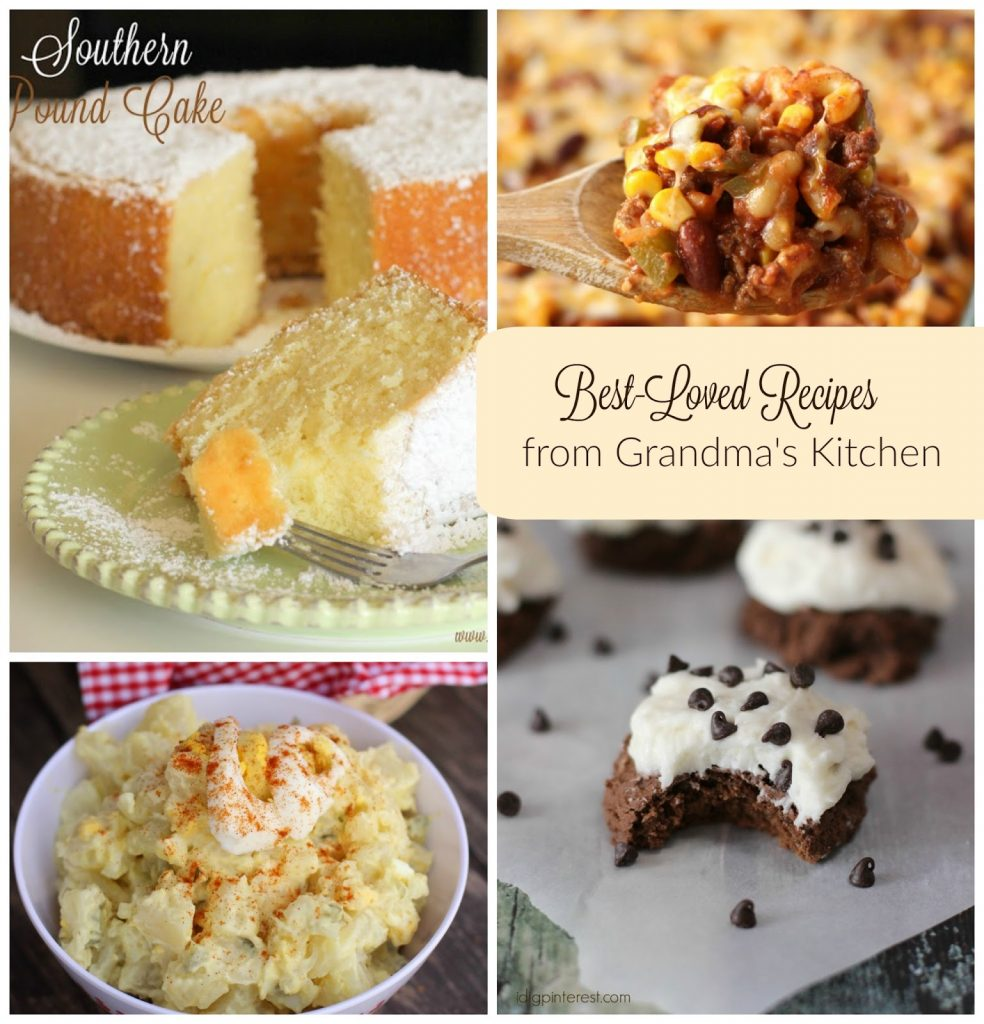 best-loved recipes from grandma's kitchen - i dig pinterest