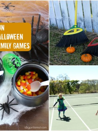 Three Fun Halloween Family Games