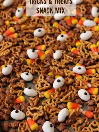 Tricks and Treats Halloween Snack Mix