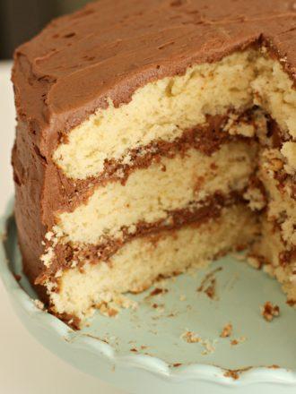 Best Ever Homemade Yellow Cake