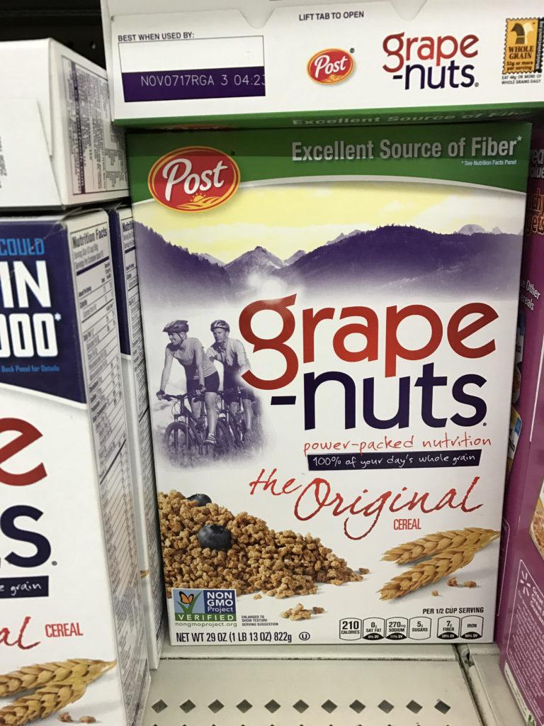 grape nuts