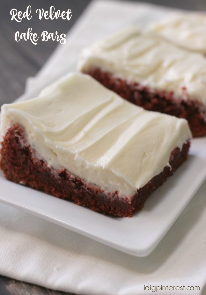 Red Velvet Cake Brownie Point