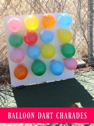Balloon Dart Charades