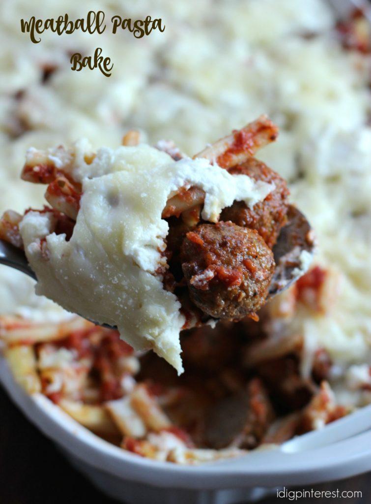 meatball pasta bake3