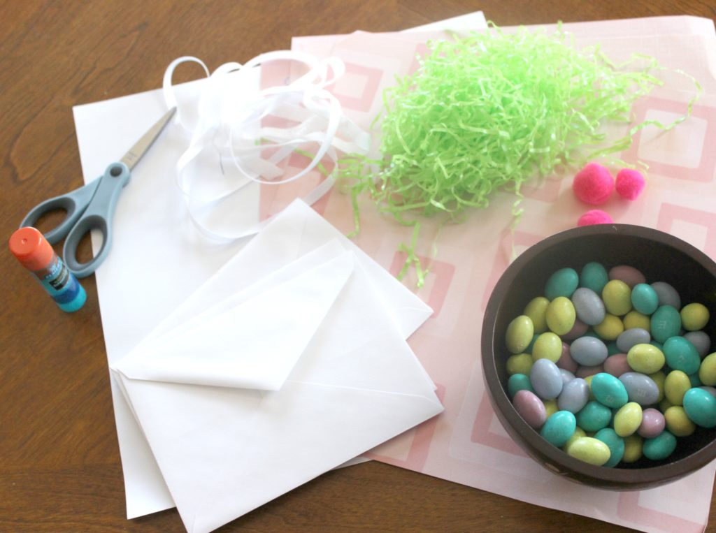 bunny pouch kids' craft supplies