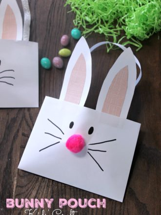 Bunny Pouch Kids' Craft
