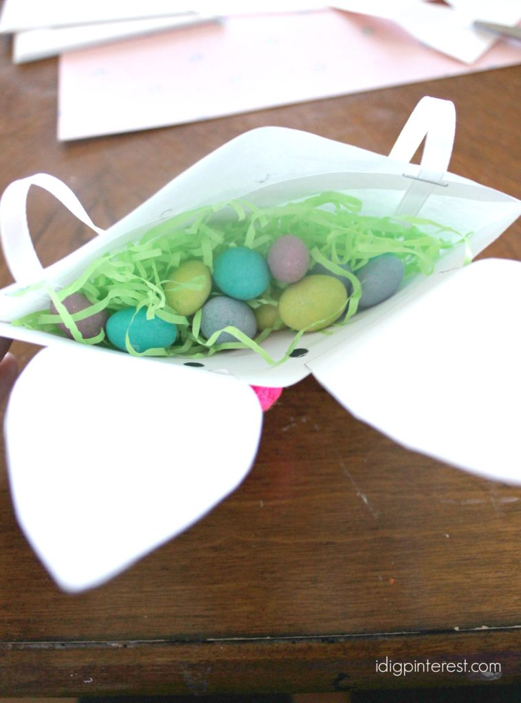 bunny pouch kids' craft4