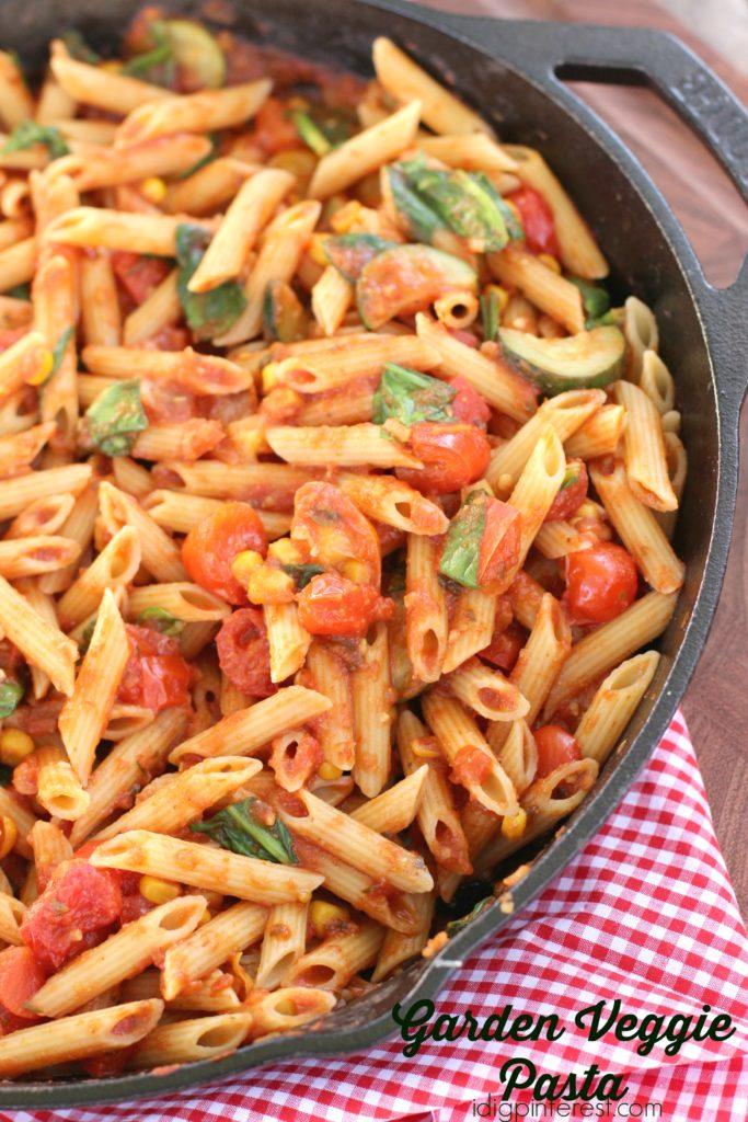garden veggie pasta6