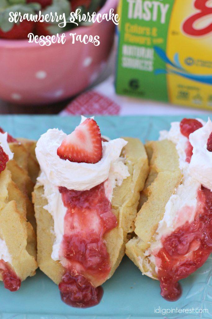 strawberry shortcake dessert tacos1