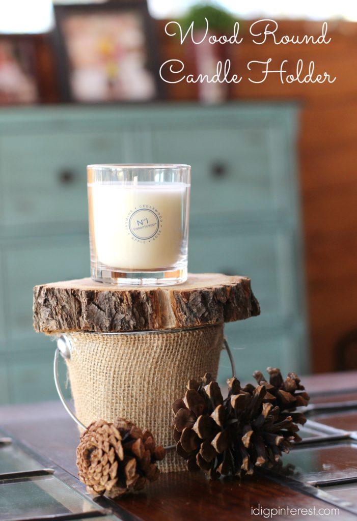 wood round candle holder3