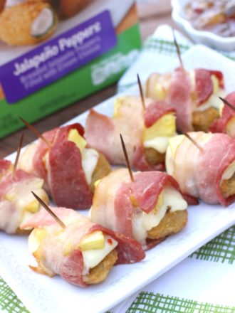 Bacon-Wrapped Jalapeño Peppers & Giveaway