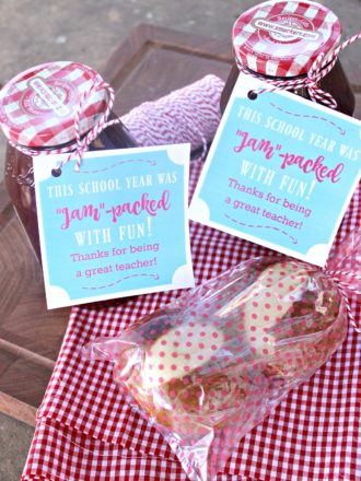 """Jam-Packed with Fun"" Teacher Appreciation Gift"