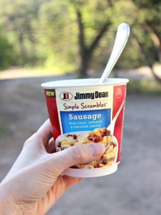 Busy Mom Breakfast Idea with Jimmy Dean Simple Scrambles