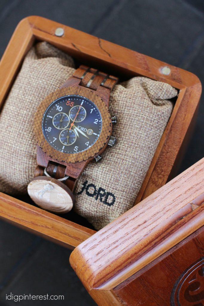 JORD men's wood watch1