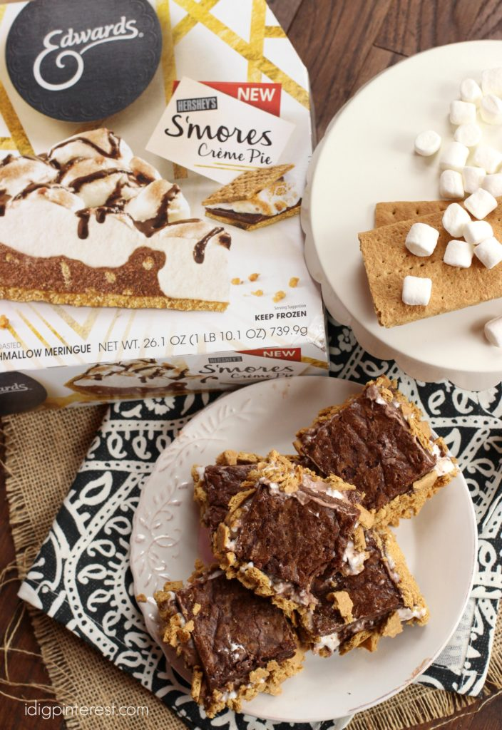 brownie smores creme sandwiches1