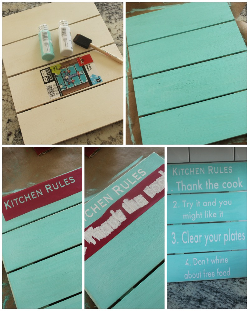 kitchen rules tutorial collage