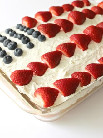 patriotic flag cake hero