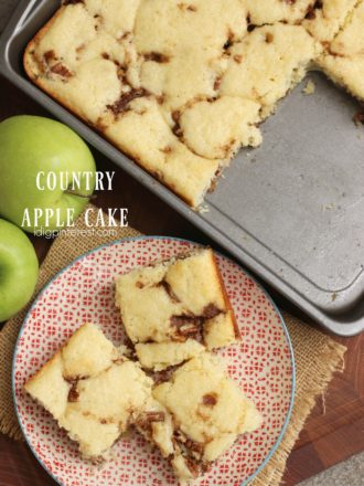 Country Apple Cake