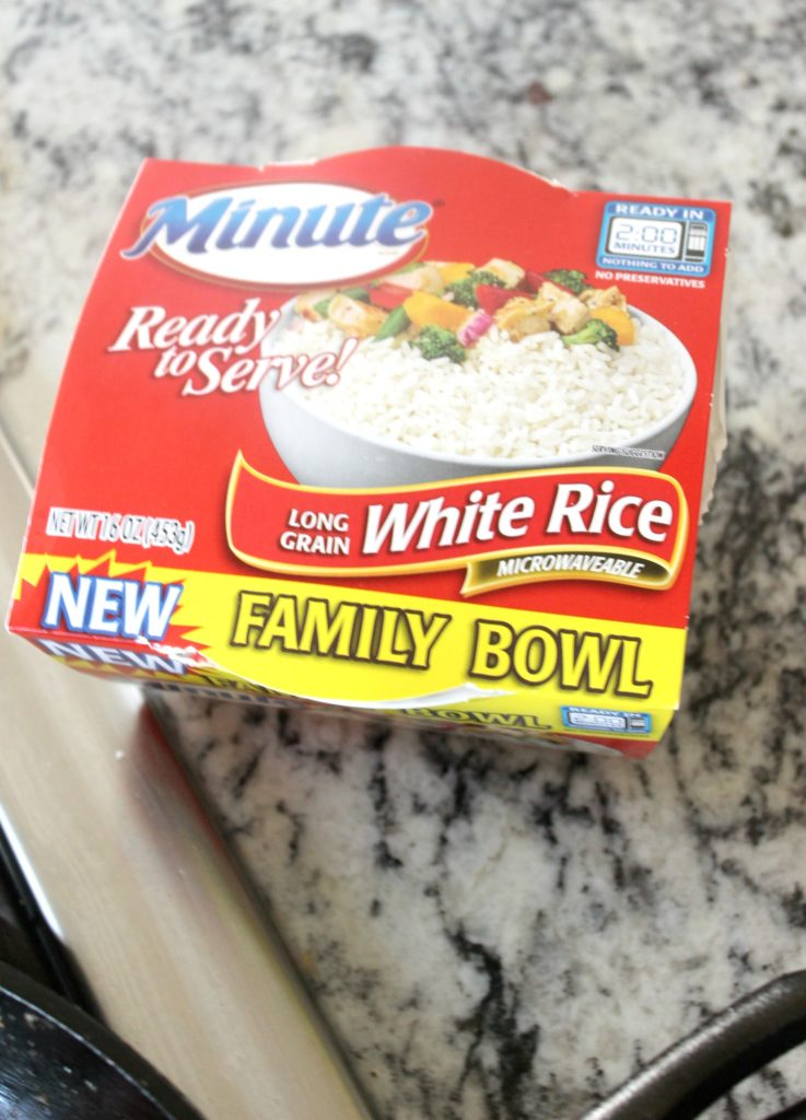 minute rice product