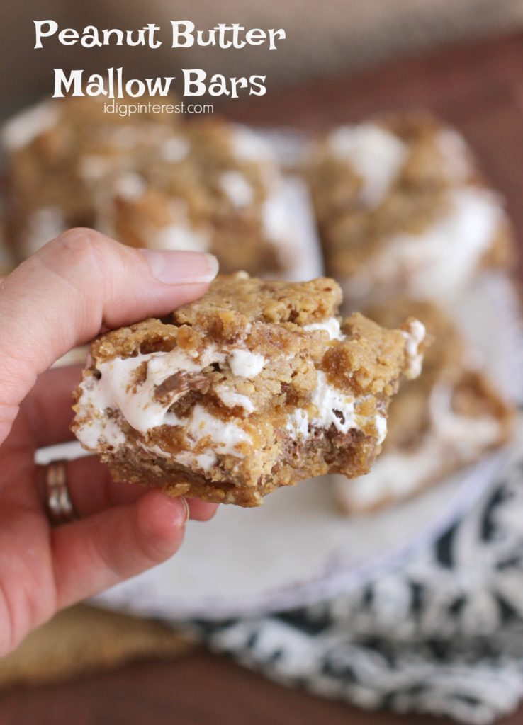 peanut butter mallow bars4