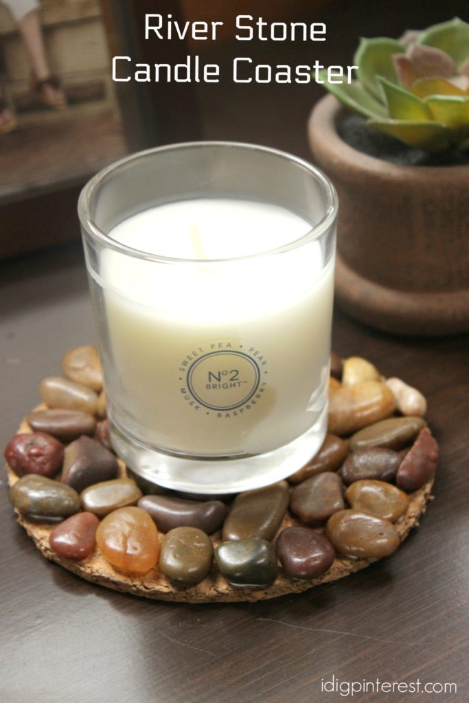 river stone candle coaster2