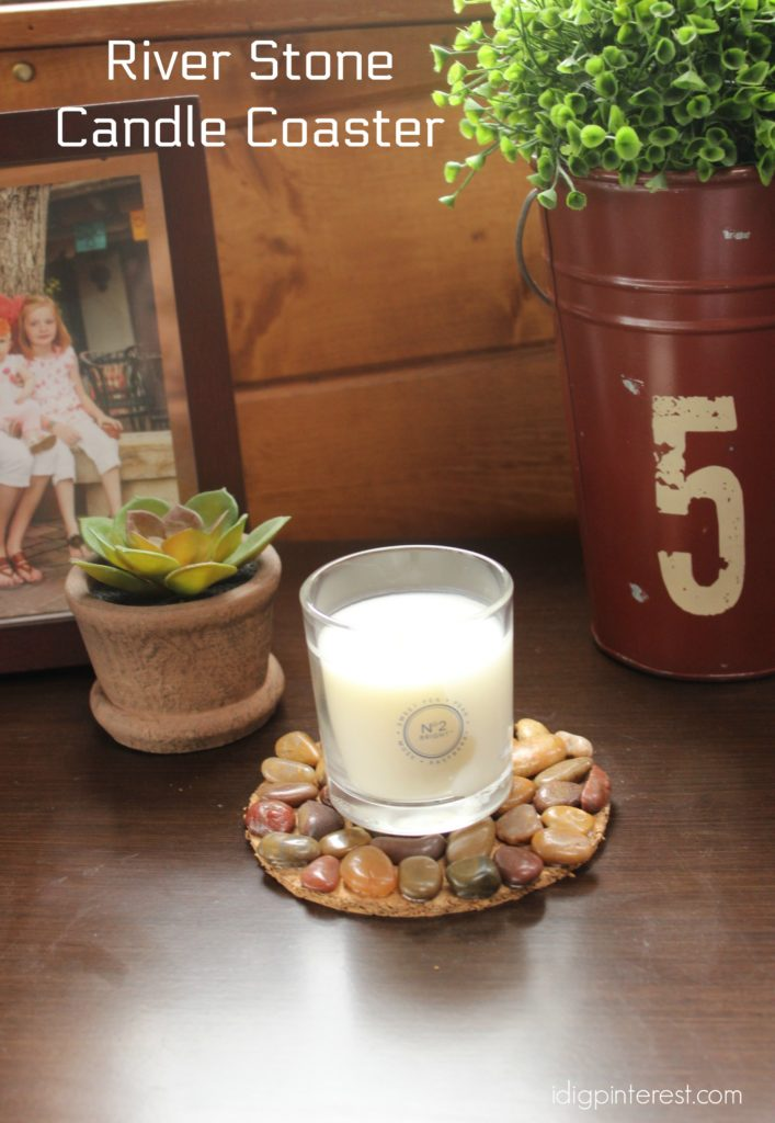 river stone candle coaster3