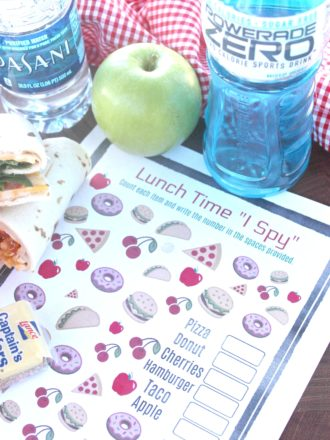 "Lunch Time ""I Spy"" Game"