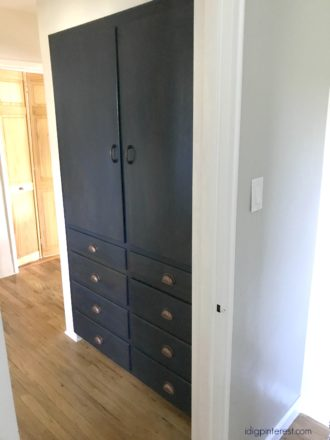 Built-In Linen Cabinets Update