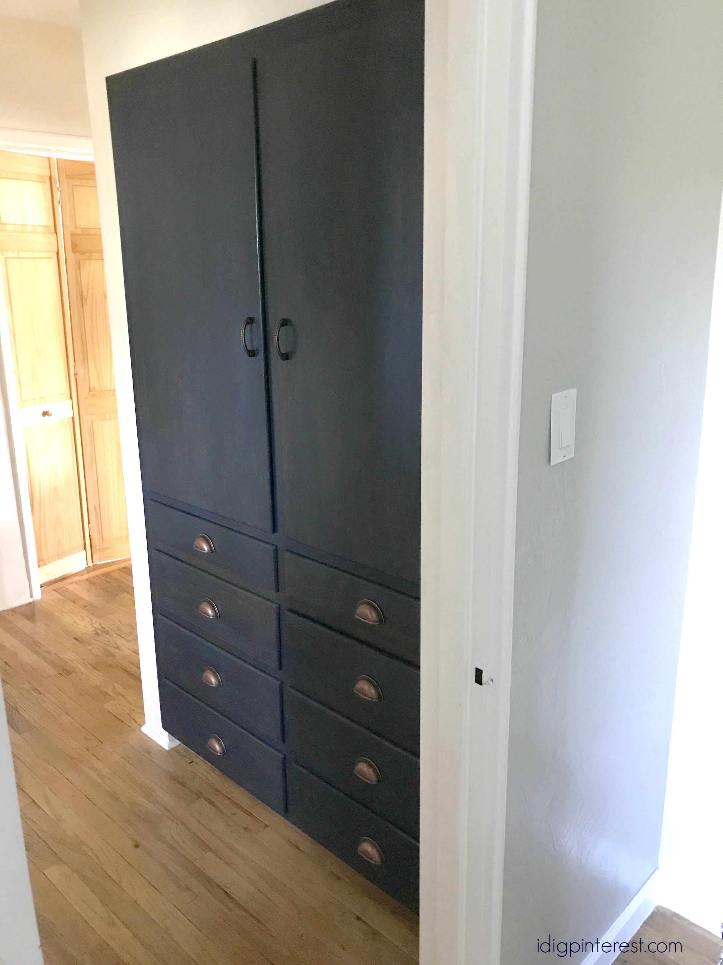 Built In Linen Cabinets Update I Dig Pinterest