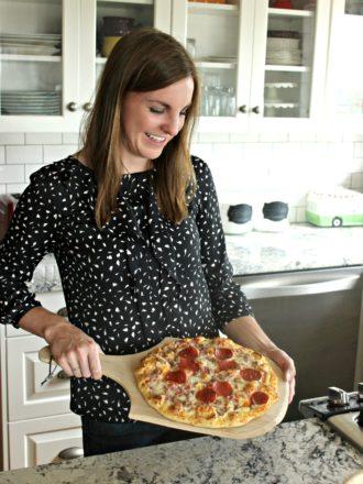 Motherhood and Pizza