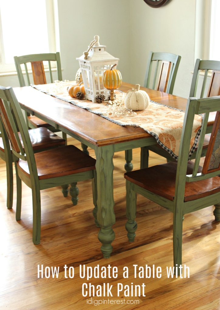 Chalk Paint Dining Room Table. From the moment our kitchen table arrived off delivery truck  I had buyer s remorse That was about nine years ago didn t say anything to my husband How Update a Table with Chalk Paint Dig Pinterest