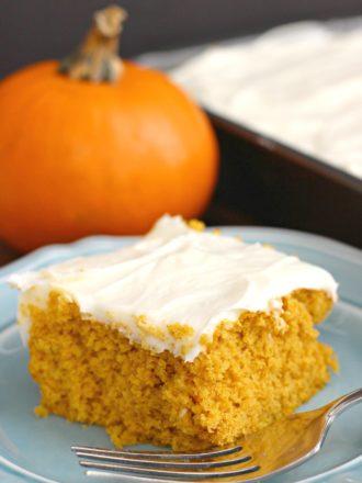 Easiest Pumpkin Cake