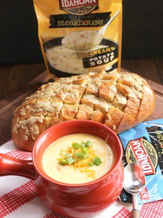 Rosemary Asiago Garlic Pull-Apart Bread