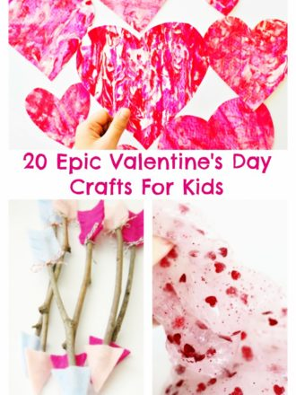 20 Epic Valentine's Day Crafts For Kids