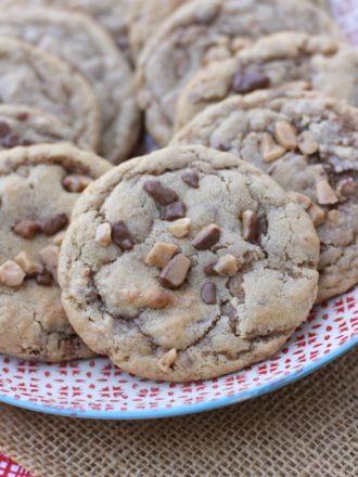 Cinnamon Toffee Cookies