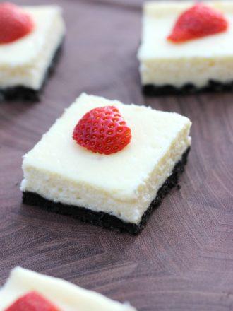 Tuxedo Cheesecake Bars