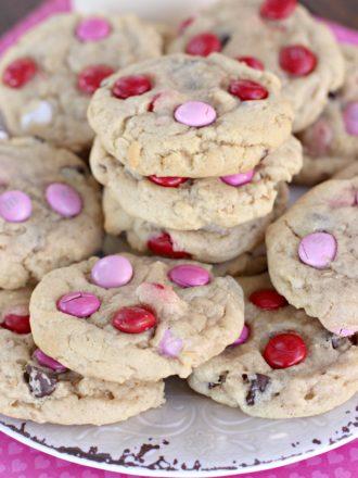 Valentine's Monster Cookies
