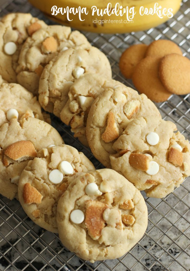 Banana Pudding Cookies - I Dig Pinterest