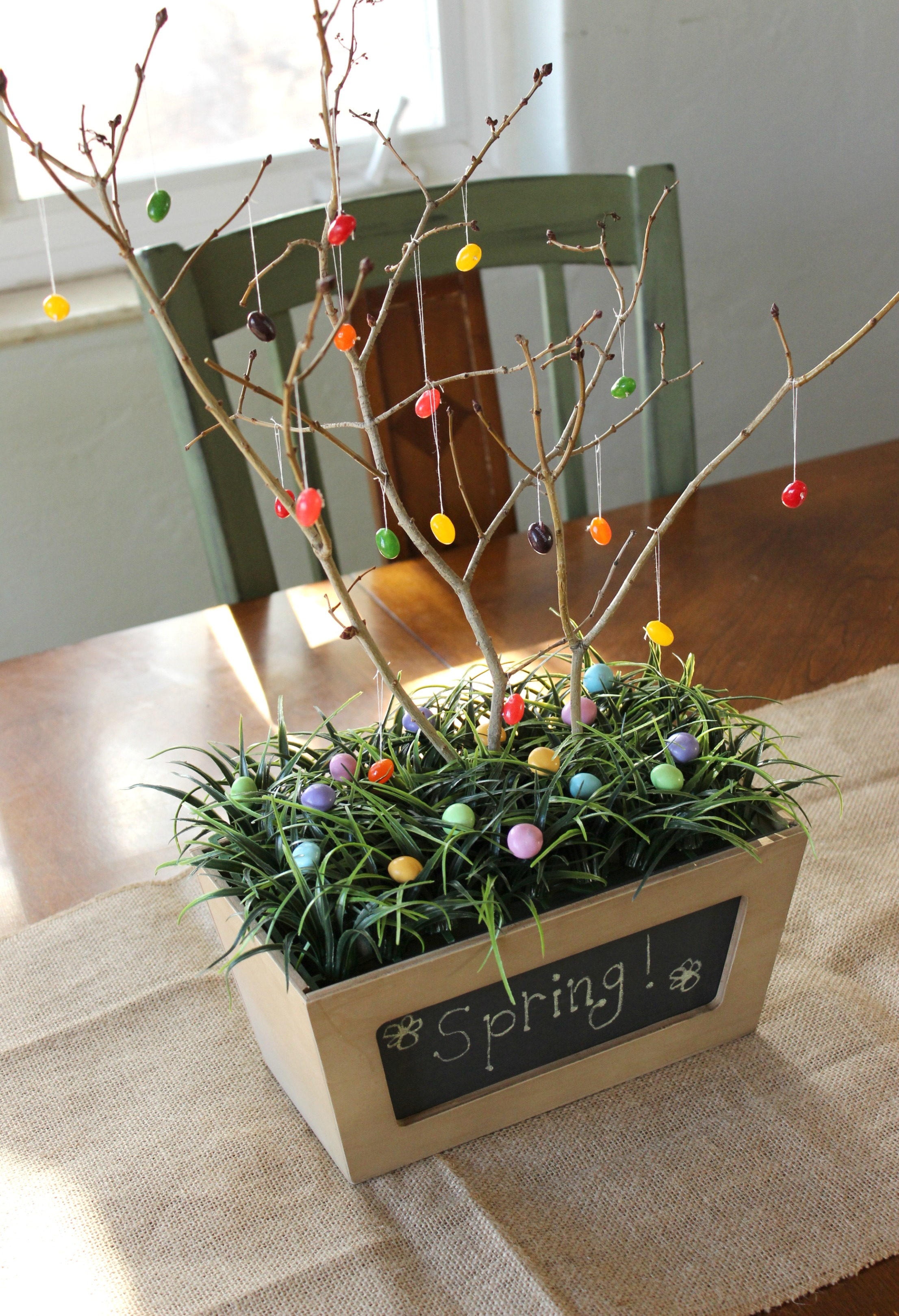 Spring Tree Table Centerpiece I Dig Pinterest