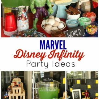 Marvel Disney Infinity Games Party Ideas